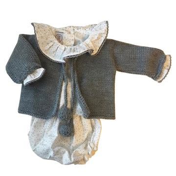 Look Grey Star pattern bloomers