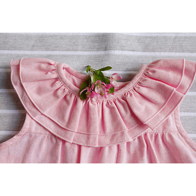 Frill collar girl shirt