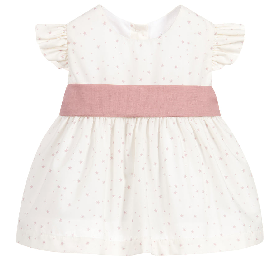 Genova sleeveless dress with diaper cover
