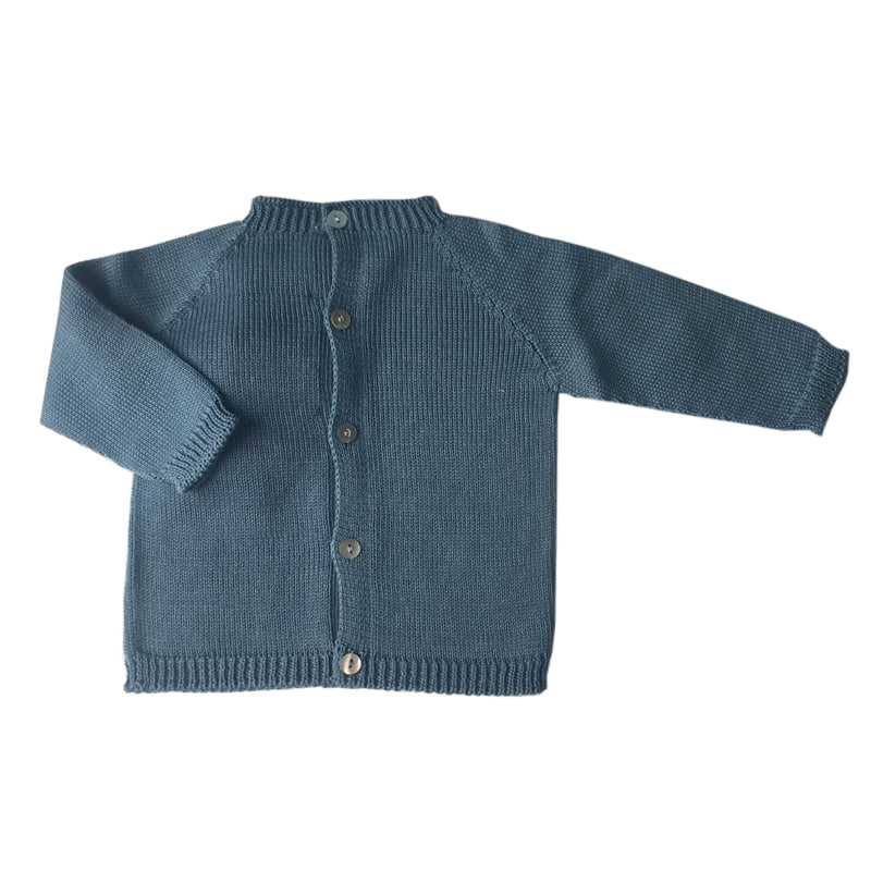 Blue baby jumper
