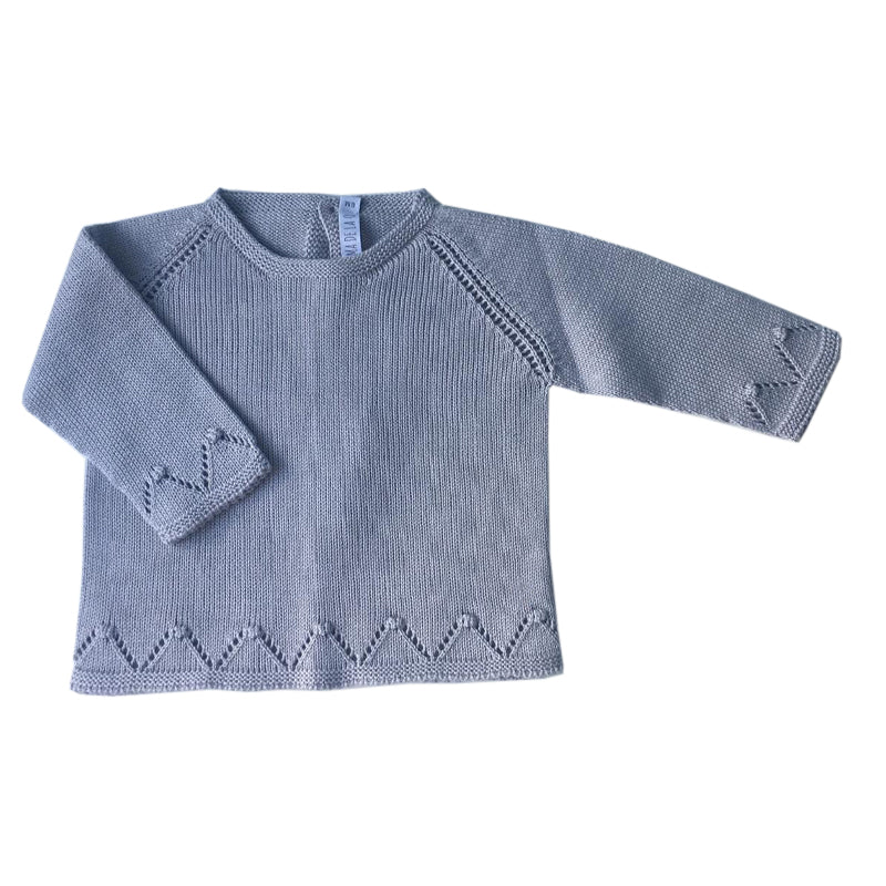 Grey baby jumper