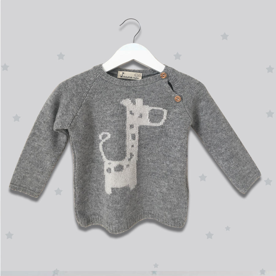 Grey boys jumper