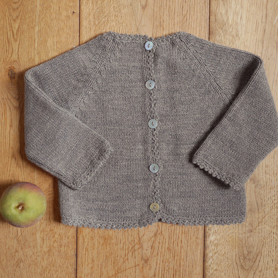 Brown baby jumper