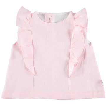 blush girl's top