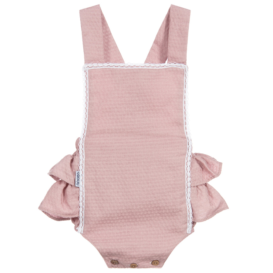 Sicilia romper with ruffle