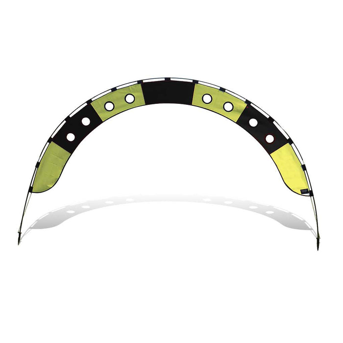 10 ft. Arch FPV Racing Air Gate - Yellow/Black