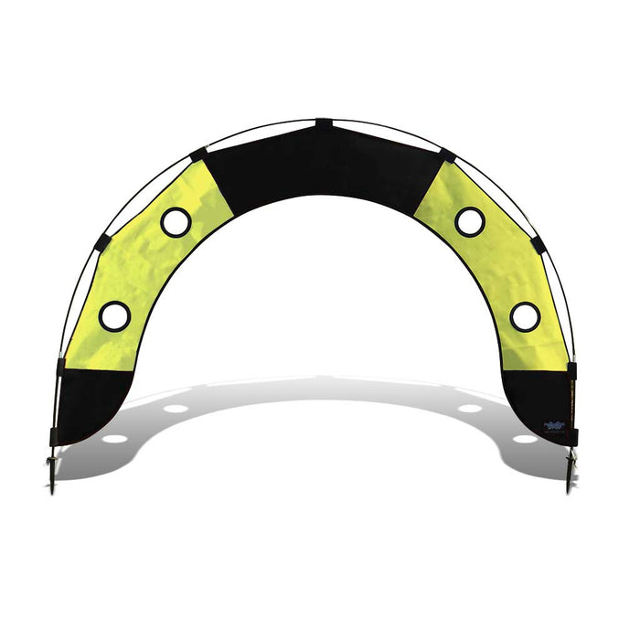 5 ft. Arch FPV Racing Air Gate - Yellow/Black