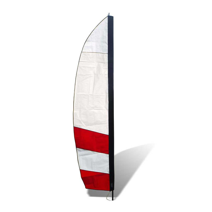 10 ft. Corner Banner FPV Racing Air Gate - White/Red