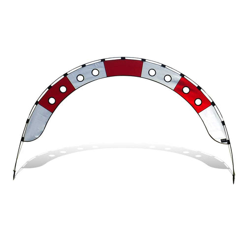 10 ft. Arch FPV Racing Air Gate - White/Red