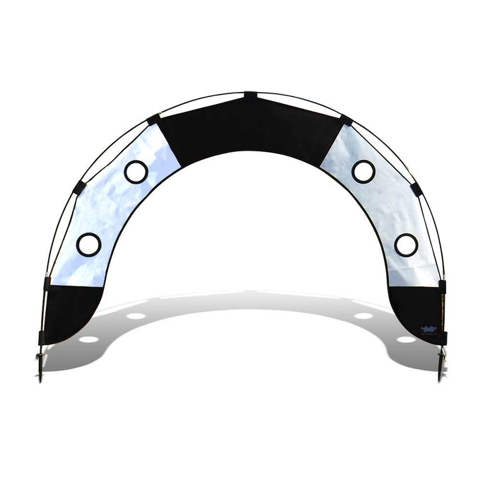 5 ft. Arch FPV Racing Air Gate - White/Black