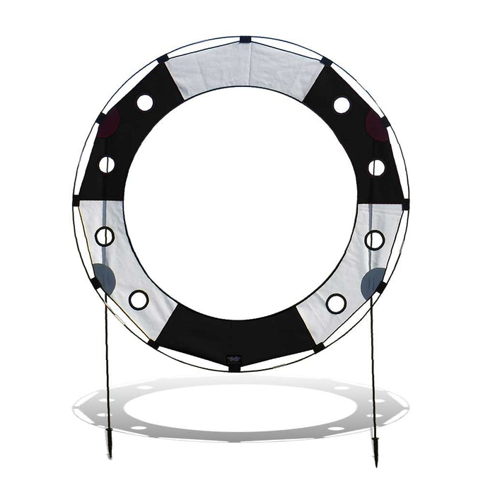 5 ft. Keyhole FPV Racing Air Gate - White/Black