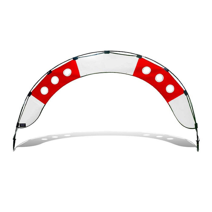7.5 ft. Arch FPV Racing Air Gate - White/Red