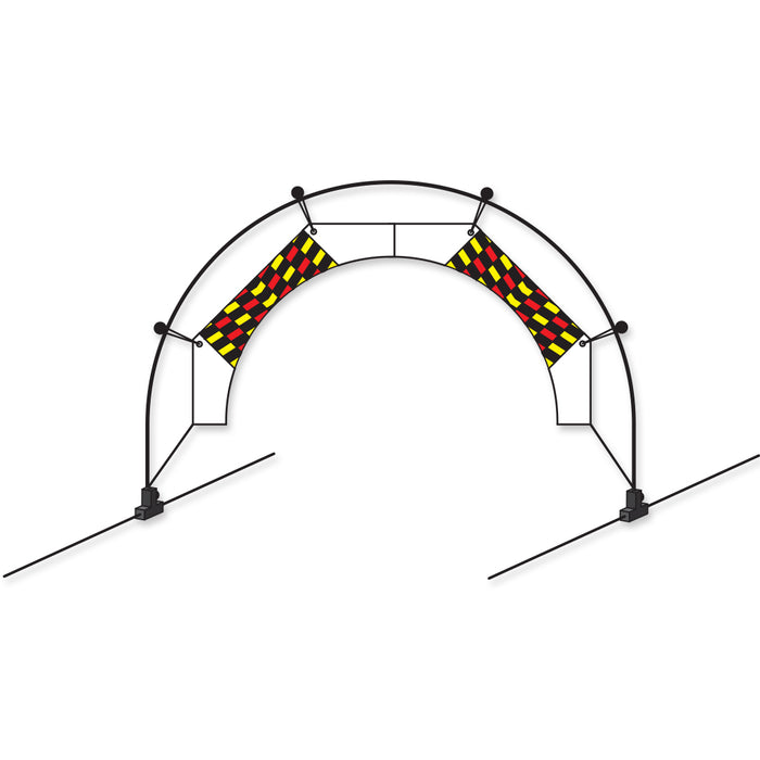 30 in. Mini Arch FPV Racing Air Gate