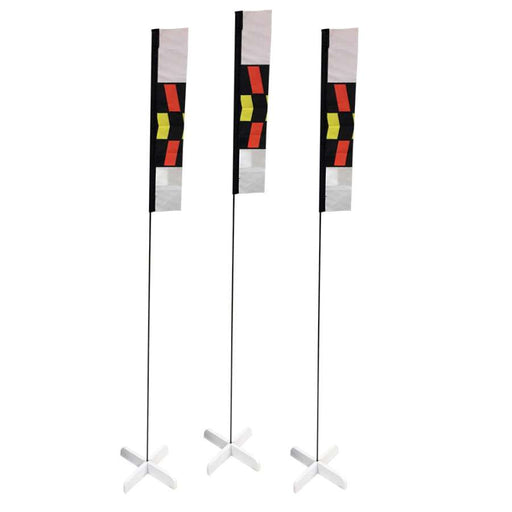 10 in. Mini Slalom FPV Racing Air Gates with Poles (Set of 3)