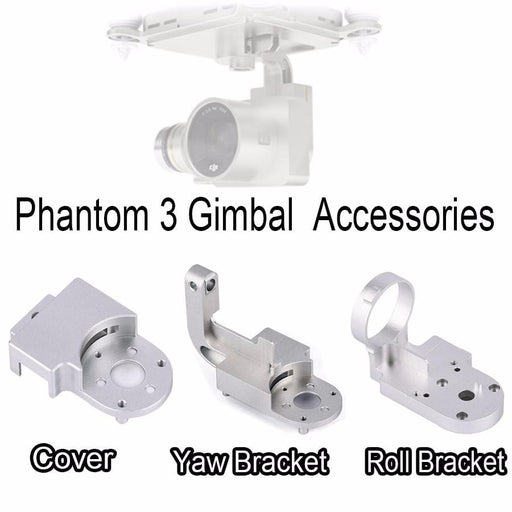 Gimbal Repair Kit Protector Guard Yaw Roll Bracket Cover Cap DIY Replacement for DJI Phantom3 F19707