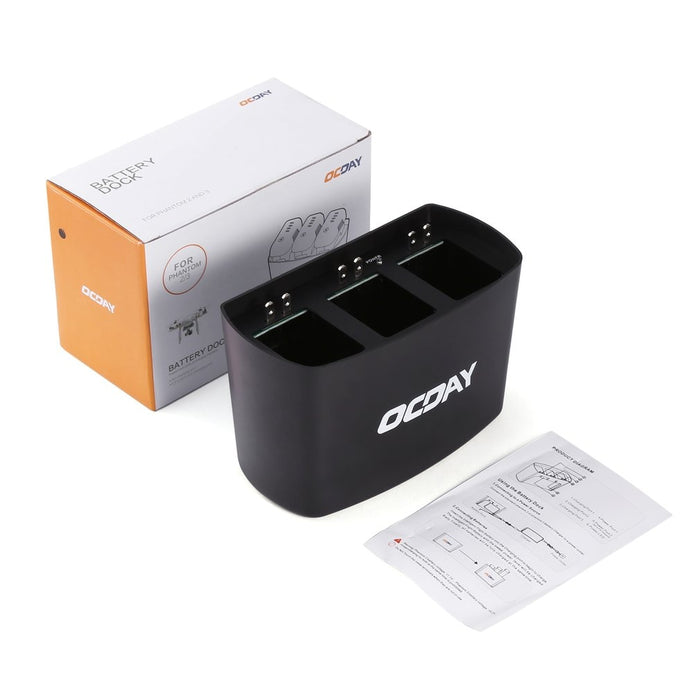 3 Port Charging Hub Charger Battery Dock for DJI for Phantom 2 / 3