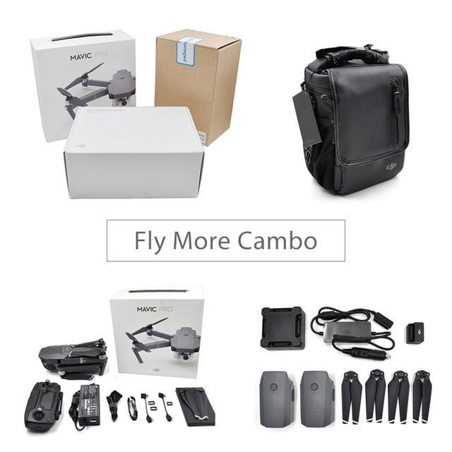 Mavic Pro Fly More Combo - DroneX - Discover the World of Drones