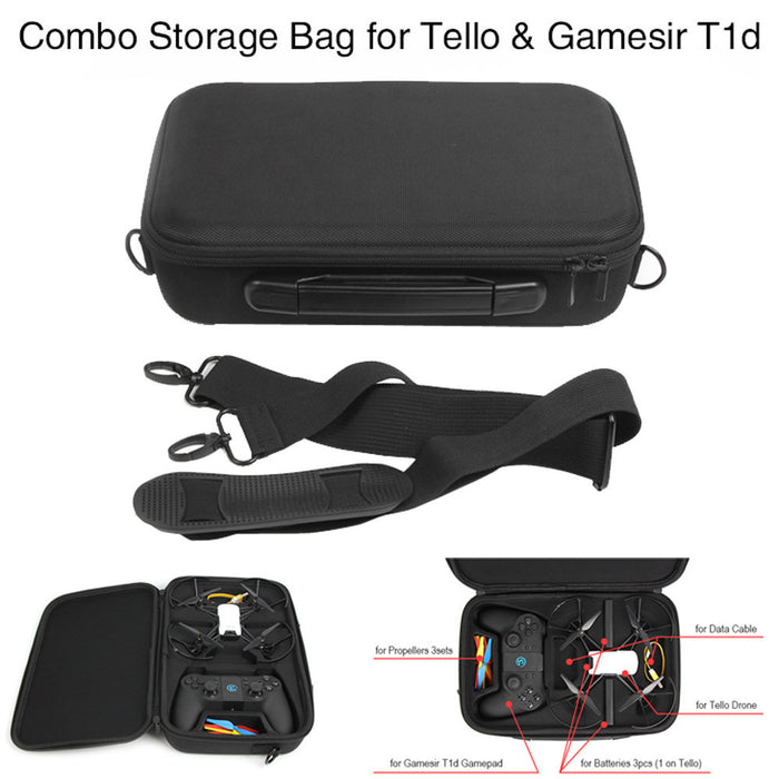 DJI Tello Drone Waterproof Portable Carrying Case - DroneX - Discover the World of Drones