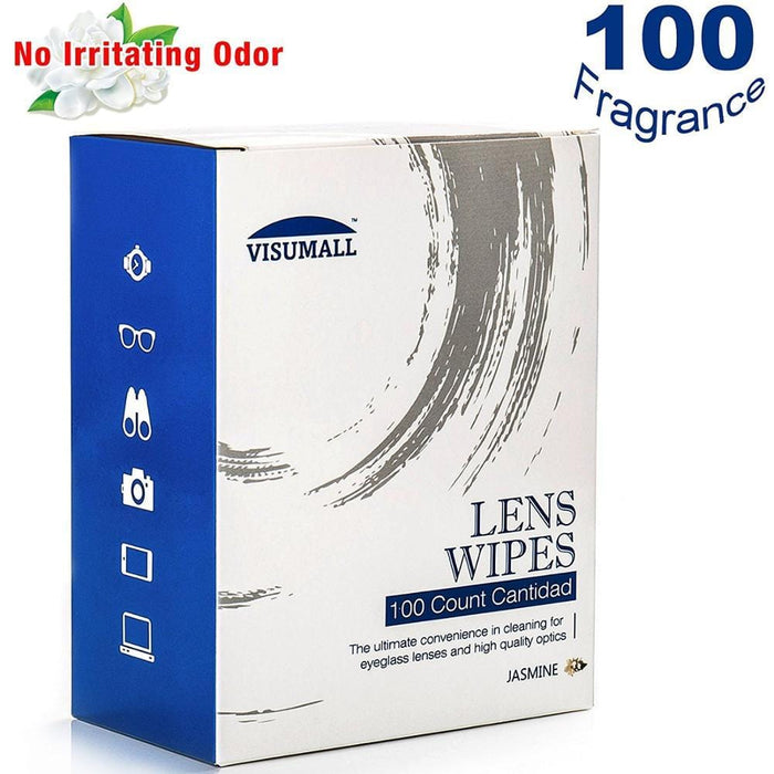 VISUMALL 100pcs Zeiss Pre-moistened Lens Cleaning anti-static wipes - DroneX - Discover the World of Drones