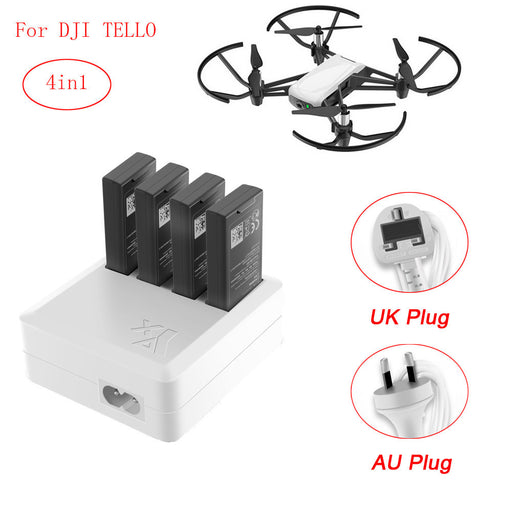 4in1 Multi Battery Charger Hub - DroneX - Discover the World of Drones