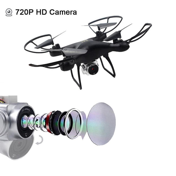 Wide Angle Lens 720P HD Camera RC Drone WiFi FPV 1600Mah Battery - DroneX - Discover the World of Drones