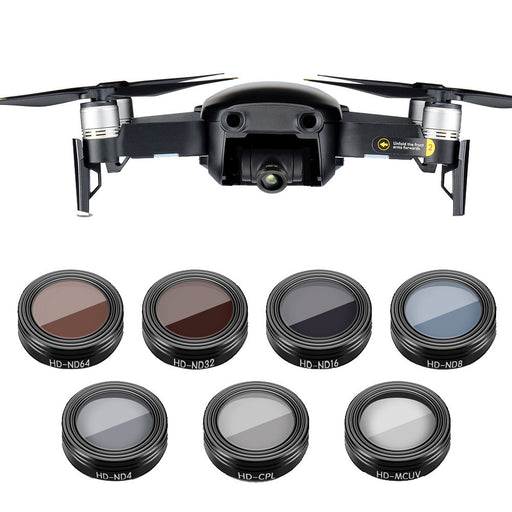 DJI Mavic Air  Waterproof Camera Lens Filters - DroneX - Discover the World of Drones