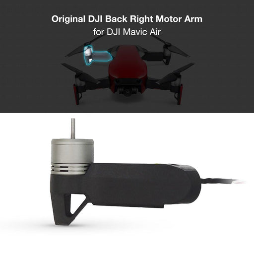 Original DJI Back Right Rear Motor Arm Repair Parts for DJI Mavic Air . - DroneX - Discover the World of Drones