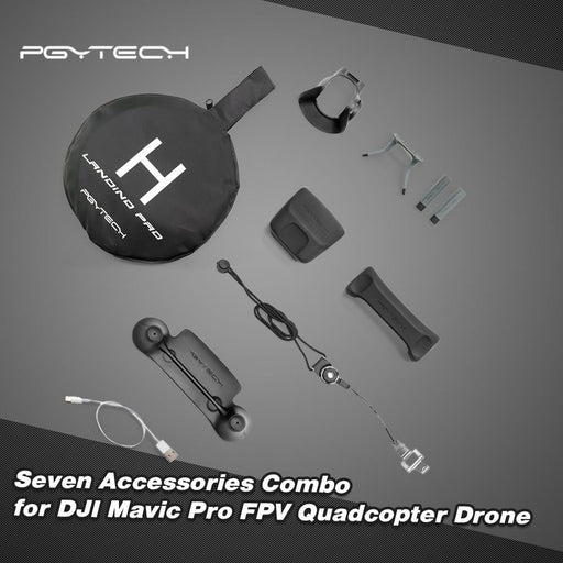 PGYTECH Seven Accessories Combo for DJI Mavic Pro - DroneX - Discover the World of Drones