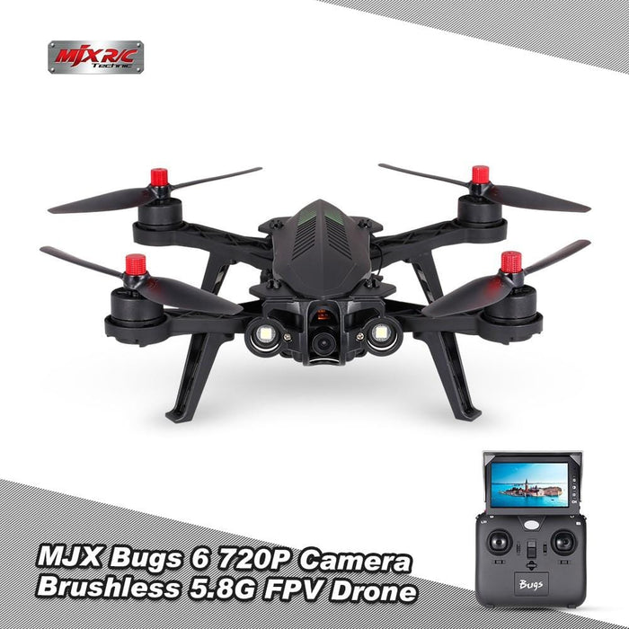 MJX Bugs 6 High Speed Brushless Racing Quadcopter - DroneX - Discover the World of Drones