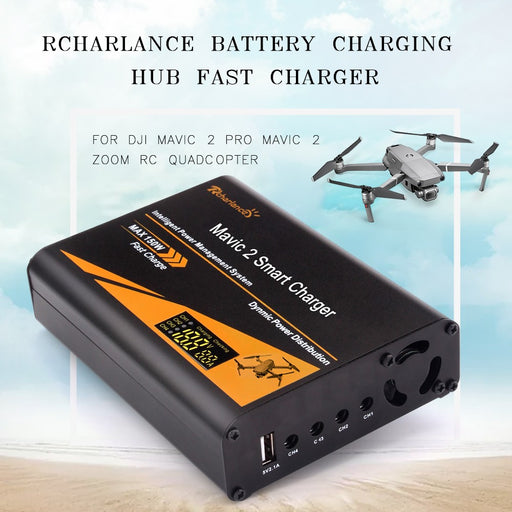 5 in 1 Battery Fast Charger for DJI Mavic 2 Pro / Zoom - DroneX - Discover the World of Drones