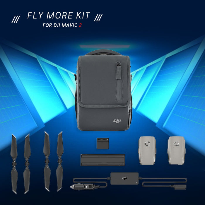 DJI Fly More Accessories Batteries,Charger,Propellers,and Shoulder Bag for for DJI Mavic 2 Pro/Zoom - DroneX - Discover the World of Drones