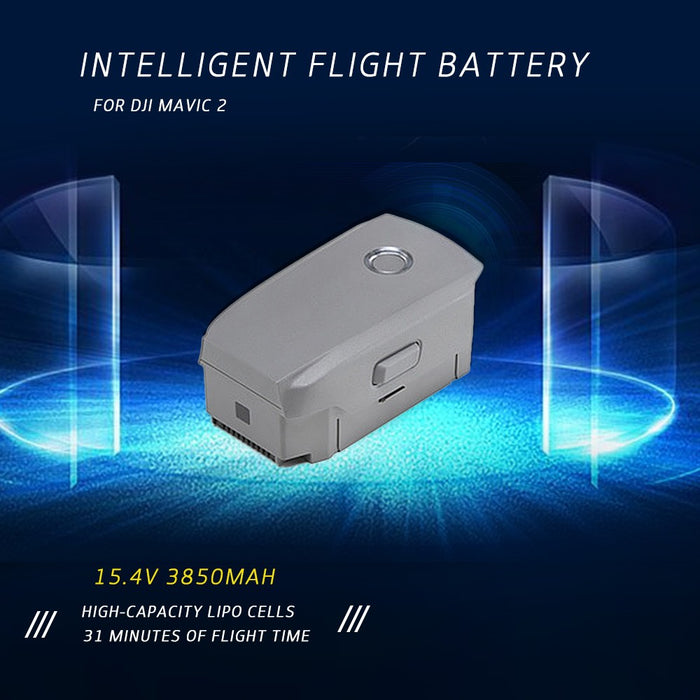 DJI 15.4V LiPo Intelligent Flight Battery for DJI Mavic 2 Pro/Zoom FPV Drone - DroneX - Discover the World of Drones
