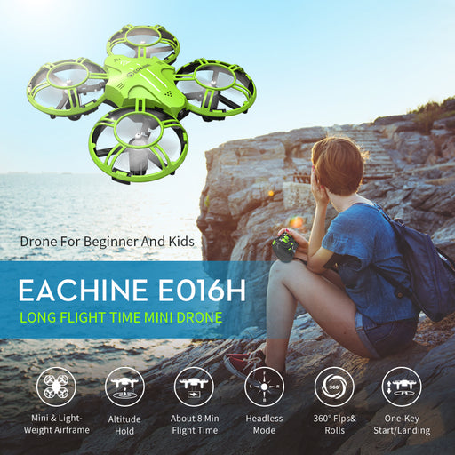Eachine E016H Mini Altitude Hold Headless Mode 2.4G - DroneX - Discover the World of Drones