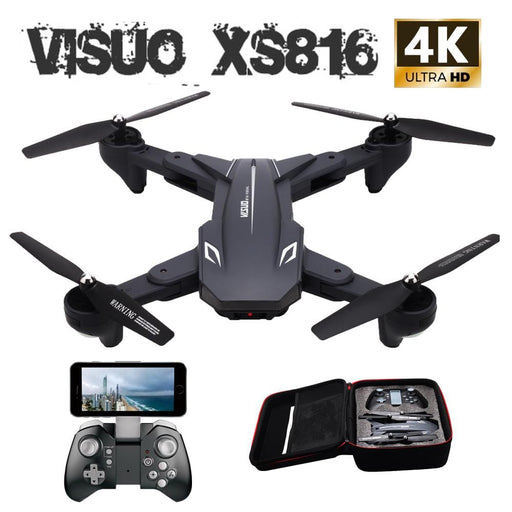 Visuo XS816 WiFi FPV RC Drone 4K Camera, Selfie Drone - DroneX - Discover the World of Drones