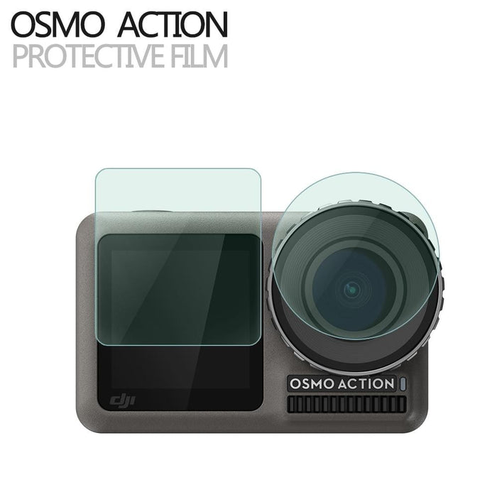 New Screen Protector Film for DJI OSMO ACTION Protective Film for DJI Action Camera Accessories - DroneX - Discover the World of Drones