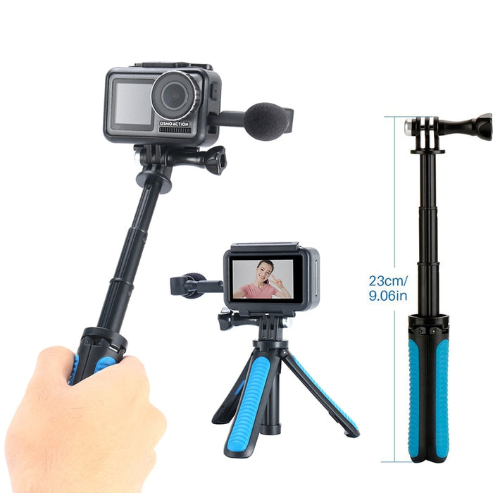 DJI Osmo Action Tripod Extension Monopod Pole Selfie Stick - DroneX - Discover the World of Drones