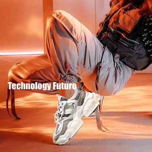 Stylish Breathable Platform Dad Sneakers(Men)