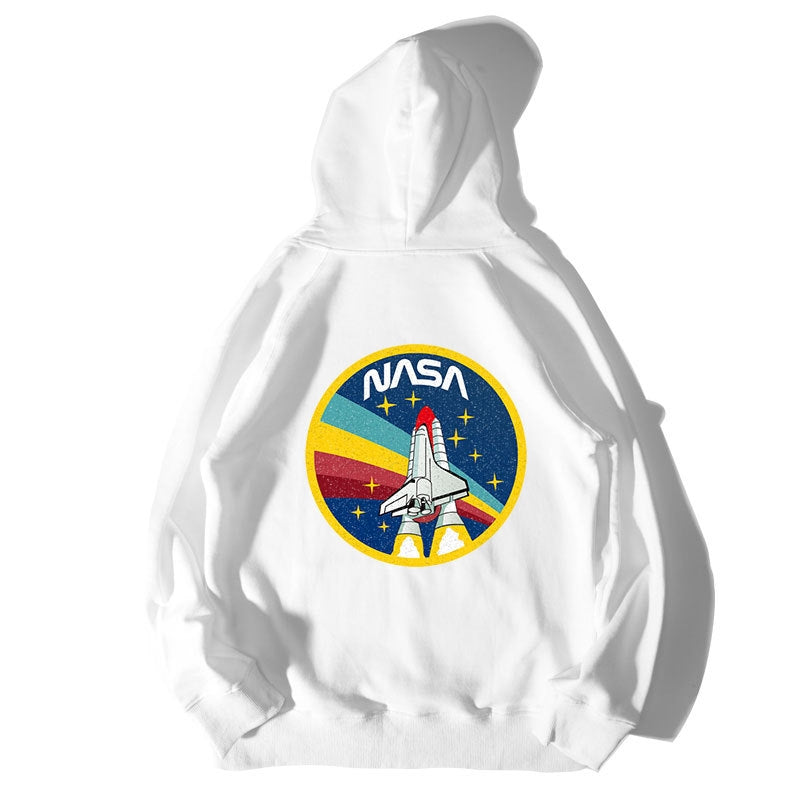 Rocket Flight Printed Hoodie
