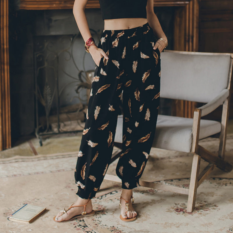 Chic Ethnic Vintage Trousers