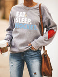 Heart Design Eat. Sleep. Hockey Sweatshirts
