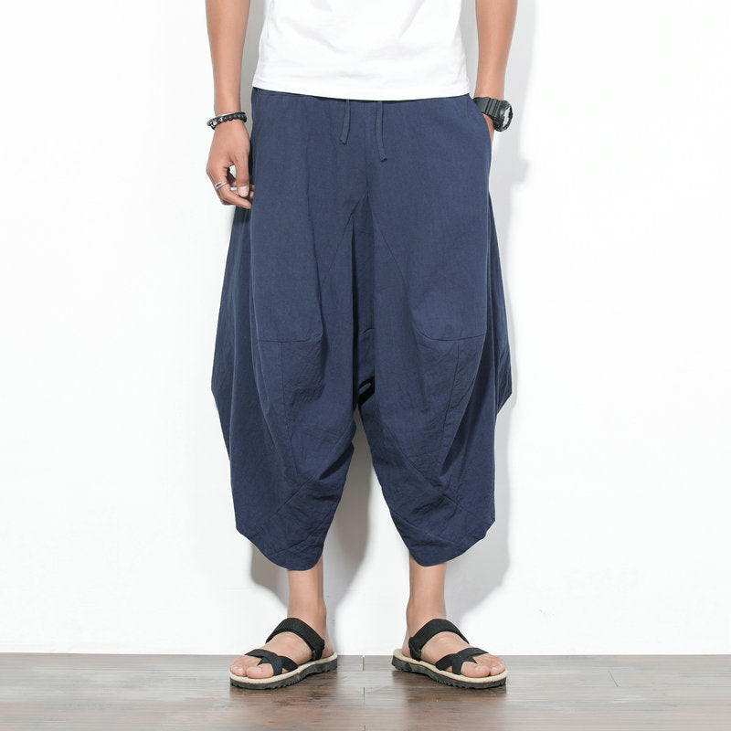 Loose Cropped Pantalets