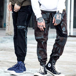 Patchwork Camouflage Cargo Pant