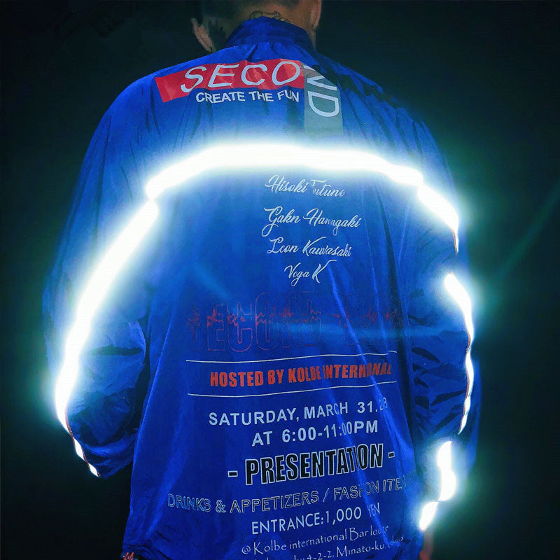 3M Reflective Stripe Track Thin Jackets