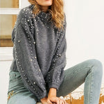 Pearl O-neck Sweater