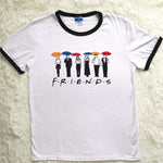 Friends Letter Printed T-shirt