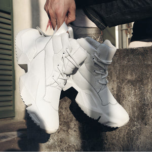 Lace Up Breathable Fashion Shoes