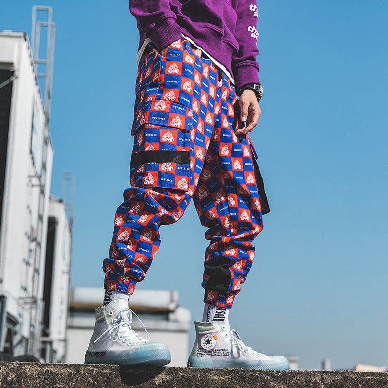 Funny Full Print Pants