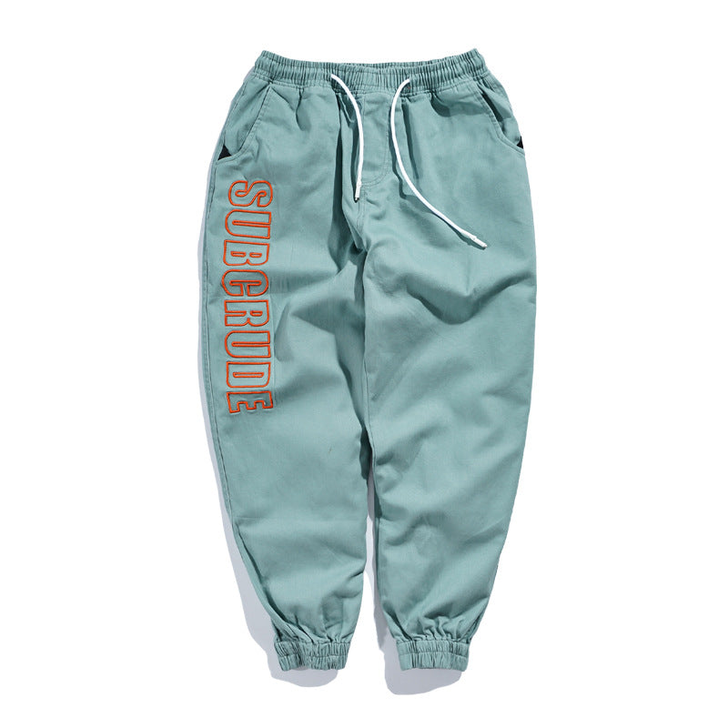 Side Pockets Loose Sweatpants