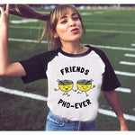 Friends Pho-ever Letter Printed T-shirt
