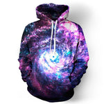 Space Galaxy Hoodies Men/Women Sweatshirt Hooded 3d Brand Clothing Print Paisley Nebula Jacket